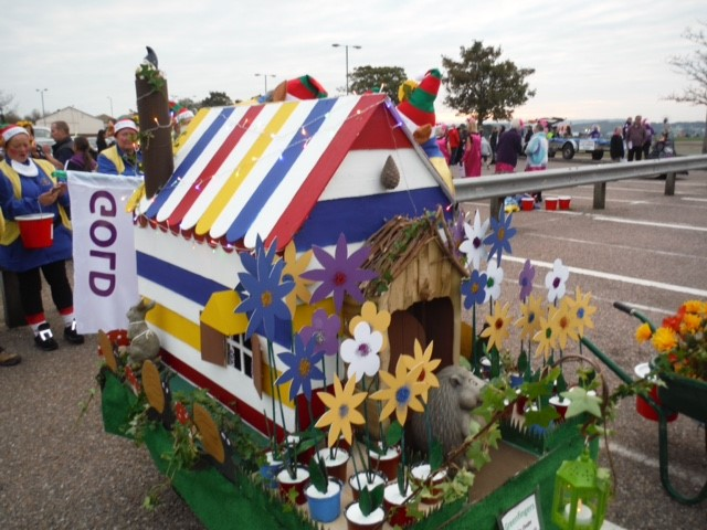 Gnome home on wheels